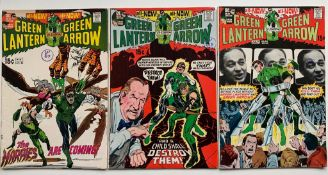 GREEN LANTERN #82, 83 & 84 (3 in Lot) - (1971 - DC) VFN+ (Cents Copy/Pence Stamp) - Black Canary and