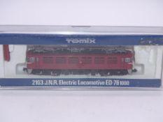 N GAUGE - A TOMIX 2103 Japanese Railways Class ED7