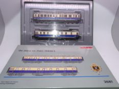 HO GAUGE - A MARKLIN 2681 (part two) coach set fro