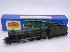 OO GAUGE - A HORNBY DUBLO 3 rail Castle Class stea