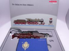 HO GAUGE - A MARKLIN 2681 Class S10 Steam Locomoti