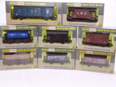 OO GAUGE - A group of mixed WRENN wagons as lotted