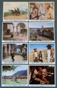 "BUTCH CASSIDY & THE SUNDANCE KID (1969) - Full set of 8 x British/UK Front of House Stills - 10"" x"