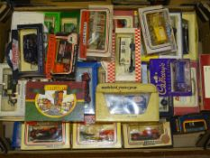 GENERAL DIECAST - A TRAY OF DIECAST MODELS to include examples by YESTERYEAR, LLEDO and MATCHBOX