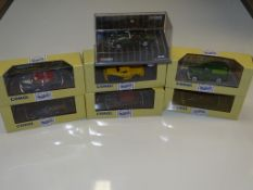 A GROUP OF CORGI CLASSICS mostly MORRIS MINOR based as lotted - VG/E in G/VG boxes (7)