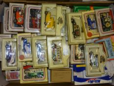 A TRAY CONTAINING A SELECTION OF LLEDO DAYS GONE as lotted - VG/E in G boxes (circa 40)