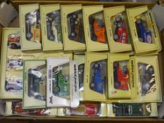 A TRAY CONTAINING A SELECTION OF MATCHBOX MODELS OF YESTERYEAR as lotted - VG/E in G boxes (circa 20
