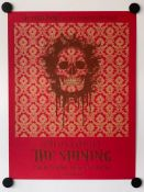 THE SHINING (2010 Release) - Limited Edition Silkscreen Movie Poster from Castro Theatre, San
