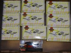 A TRAY CONTAINING A SELECTION OF MATCHBOX COLLECTIBLES DIECAST MODELS as lotted - VG/E in G boxes (
