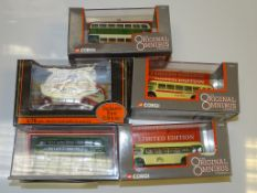 A GROUP OF CORGI OOC BUSES TOGETHER WITH ONE EFE as lotted - VG/E in G boxes (5)