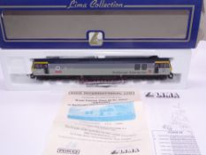 OO GAUGE - A Lima Class 92 electric locomotive, 92030 Ashford, in Tunnel/Distribution triple grey