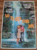 """NO TEARS FOR JOY (1968) (POOR COW) - UK One Sheet Film Poster (27"""" x 40"""" – 68.5 x 101.5 cm) - Very"""