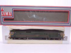 OO GAUGE - A Lima Class 50 diesel locomotive, professionally resprayed, 50007 Sir Edward Elgar, in