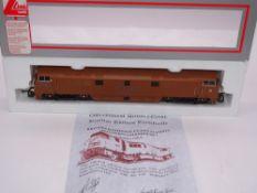 OO GAUGE - A Lima Class 52 diesel locomotive, D1015 Western Champion, in Golden Ochre livery, #336