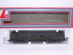 OO GAUGE - A Lima Class 52 diesel locomotive, D1003 Western Pioneer, in BR green livery. VG in G