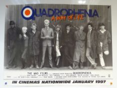 """QUADROPHENIA (1979) - 1997 re-release - film poster - 24"""" x 32"""" (61 x 81 cm) - Rolled (as"""
