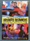 "ABSOLUTE BEGINNERS (1986) - DAVID BOWIE - German A1 film poster - 23"" x 33"" (58 x 84 cm) - Folded ("