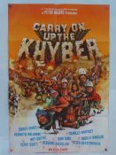 CARRY ON UP THE KHYBER (1968) - British One Sheet Movie Poster - Renato Fratini finished artwork