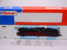 HO GAUGE - A Roco German BR23 steam locomotive in