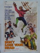 """CARRY ON DON'T LOSE YOUR HEAD (1966) - UK / International One Sheet Movie Poster (27"""" x 41"""" - 68.5 x"""
