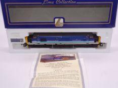 OO GAUGE - A Lima Class 37 diesel locomotive, 37420 The Scottish Hosteller, in Regional Railways