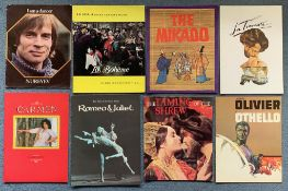 QUANTITY OF FILM CAMPAIGN BOOKS - BALLET/MUSIC/OPERA THEMED (8 in Lot) To include I AM A DANCER (