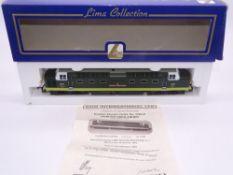 OO GAUGE - A Lima Class 55 Deltic diesel locomotive, D9016 Gordon Highlander, in BR two tone green