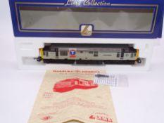 OO GAUGE - A Lima Class 37 diesel locomotive, 37410 Aluminium 100, in Transrail triple grey