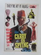 CARRY ON SPYING (1964) - Campaign Book - Flat. Fai