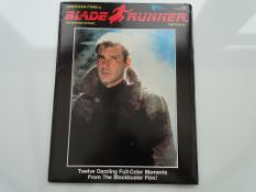 BLADE RUNNER PORTFOLIO (1982) - Printed in 1982 by