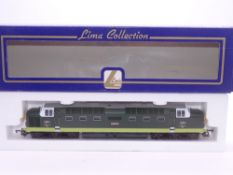 OO GAUGE - A Lima Class 55 Deltic diesel locomotive, D9020 Nimbus, in BR two tone green livery. VG