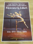"ROMEO & JULIET (1966) - British Large Format 40"" x"