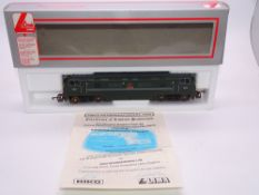 OO GAUGE - A Lima Class 42 diesel locomotive, D819 Goliath, in BR Green livery, #688 of 1000 (