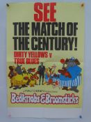 "BEDKNOBS AND BROOMSTICKS (1971) - LION/ELEPHANT/MATCH - 3 x UK Double Crown Film Posters (20"" x"