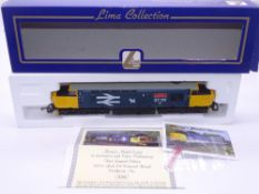 OO GAUGE - A Lima Class 37 diesel locomotive, 37111 Loch Eil Outward Bound, in Large Logo Blue
