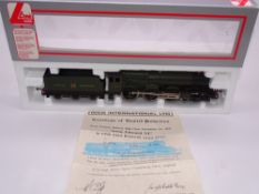 OO GAUGE - A Lima King Class steam locomotive, 6012 King Edward VI, in GWR green livery, #195 of 500