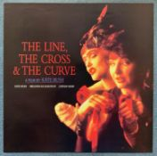 THE LINE, THE CROSS & THE CURVE (1993) - KATE BUSH - RARE - British Promotional film poster directed