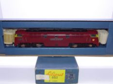 OO GAUGE - A Liliput Western class diesel locomotive D1000 Western Enterprise in BR maroon. G in G