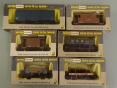 OO GAUGE - A group of Wrenn wagons as lotted. (6) VG-E in VG boxes