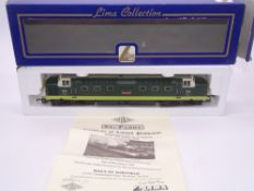 OO GAUGE - A Lima Class 55 Deltic diesel locomotive, D9001 St Paddy, in BR two tone green livery, #