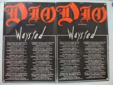 DIO / WAYSTED - A pair of UK Double Crowns taped t