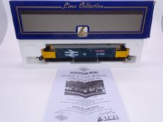 OO GAUGE - A Lima Class 37 diesel locomotive, 37425 Concrete Bob, in Large Logo blue livery, #356 of