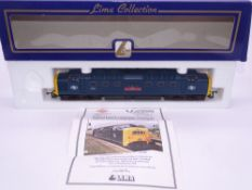 OO GAUGE - A Lima Class 55 Deltic diesel locomotive, 55019 Royal Highland Fusilier, in BR Blue