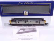 OO GAUGE - A Lima Class 37 diesel locomotive, 37013, in Triple Grey livery, #137 of 500 (Geoffrey