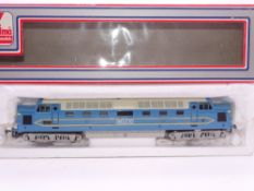 OO GAUGE - A Lima Class 55 Deltic locoomotive modifed and repainted to a fair to good standard as
