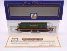OO GAUGE - A Lima Class 20 diesel locomotive, 20001, in Eddie Stobart livery, #56 of 750 (Eddie