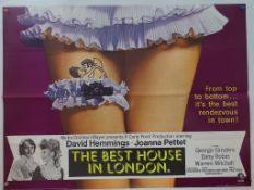 ADULT/SEXPLOITATION LOT (4 in Lot) to include THE BEST HOUSE IN LONDON (1969) / ADULT FAIRY TALES (