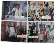 CARRY ON DON'T LOSE YOUR HEAD (1966) - Complete set of 8 x British Lobby Cards with original