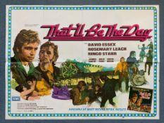 THAT'LL BE THE DAY (1973) British UK Quad film poster - DAVID ESSEX - RINGO STARR - Arnaldo Putzu