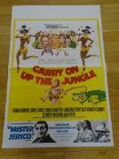 CARRY ON UP THE JUNGLE & MISTER JERICO (1970) - Br